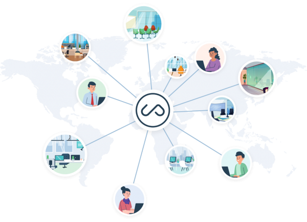 How Upflex Helps You Manage a Decentralized Office